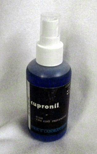 Cupronil flux and fire coat preventive