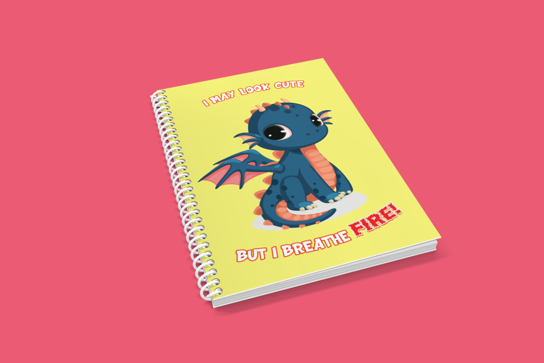 Baby Dragon Notebook