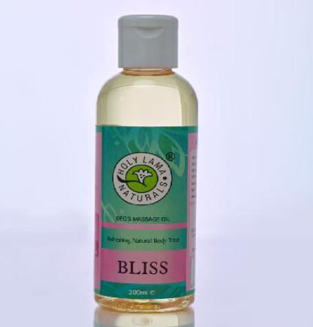 BLISS MASSAGE OIL (IN PET BOTTLE) 200ml