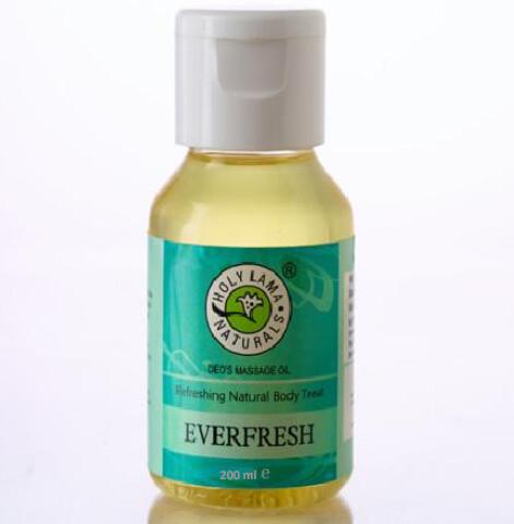 EVERFRESH MASSAGE OIL (IN PET BOTTLE) 200ml