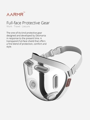 360 Degree Protective Face Gear!