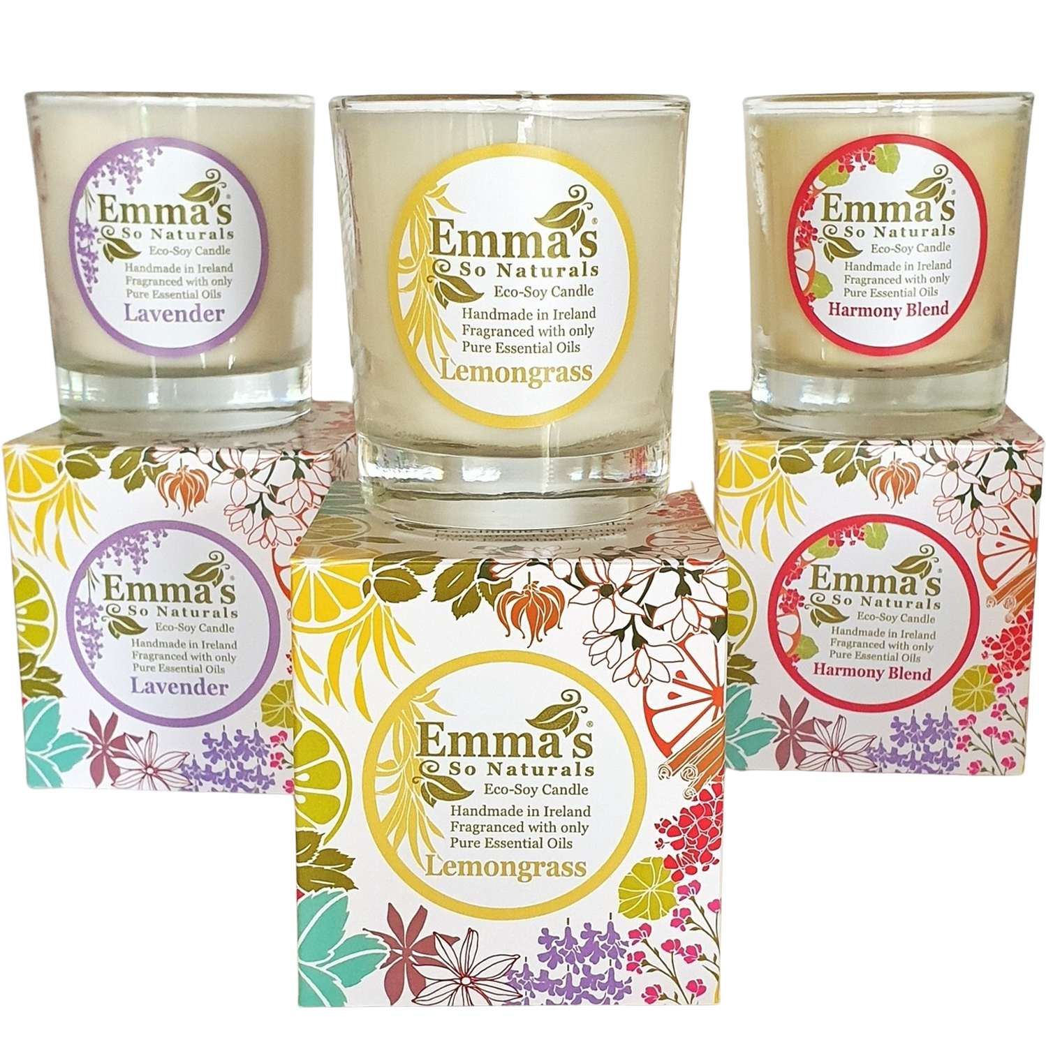 All Natural Eco-Soy Tumbler Candle - 3 Pack
