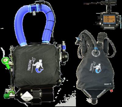 TRITON Standard avec harnais Sidemount / TRITON with Sidemount harness
