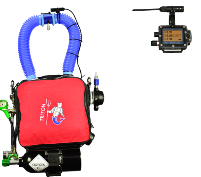 TRITON Standard sans harnais Sidemount / TRITON without Sidemount harness