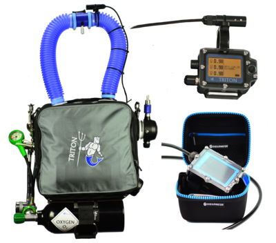 TRITON Petrel2 sans harnais Sidemount / TRITON Petrel2 without Sidemount harness