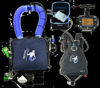 TRITON Petrel2 avec harnais Sidemount / TRITON Petrel2 with Sidemount harness