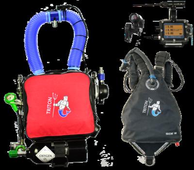 TRITON Nerd2 avec harnais Sidemount / TRITON Nerd2 with Sidemount harness