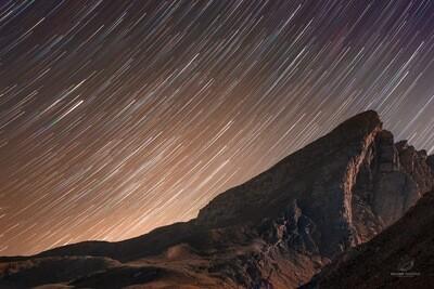 Filé d'étoiles sur le Pain de Sucre