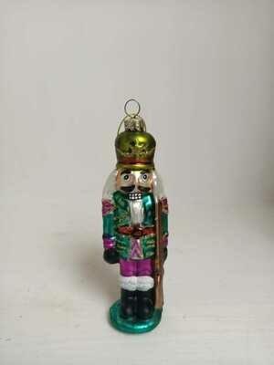 Soldatino di vetro per albero
