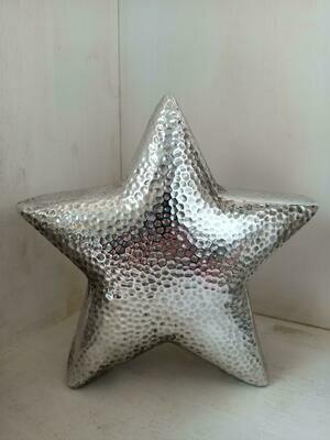 Deco Stella Argento H. 20 cm