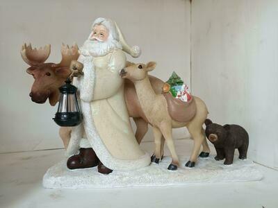 Babbo Natale c/animali