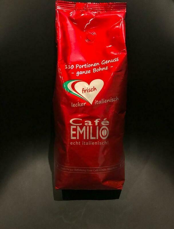 Café Emilio Ganze Bohne