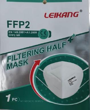 FFP2 Schutzmaske - einzeln verpackt