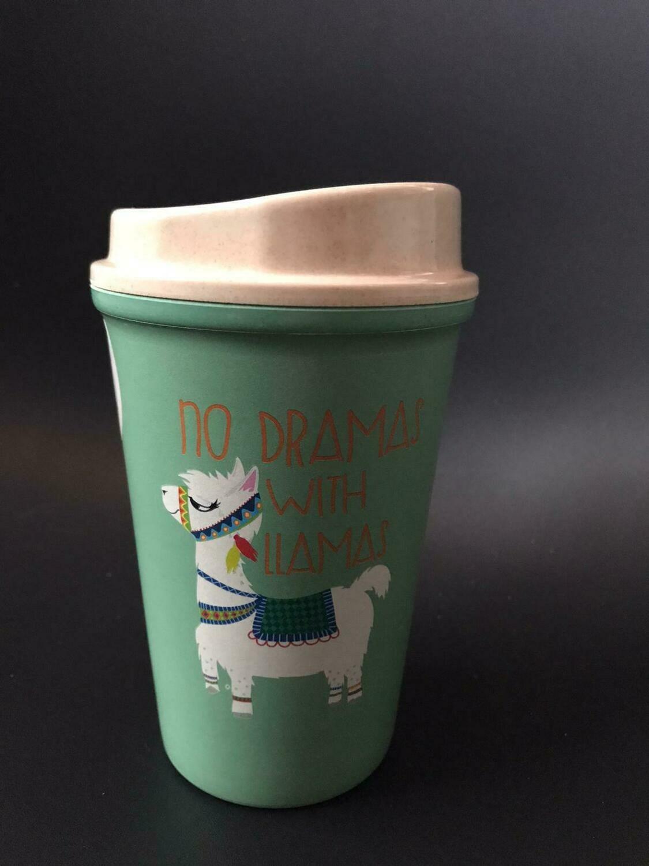 Drama Llama Bambus Coffee-To-Go-Becher