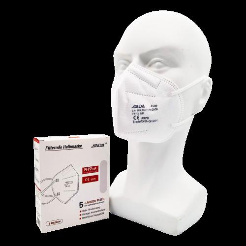 FFP2 Maske in Weiß