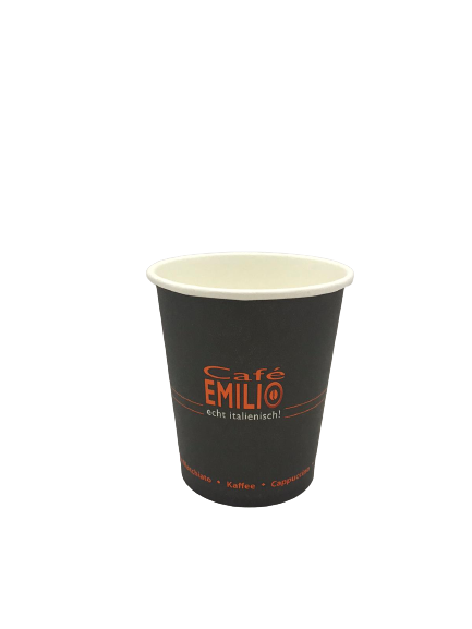 Café Emilio to go Becher 200 ml Füllmenge - 50 Stück