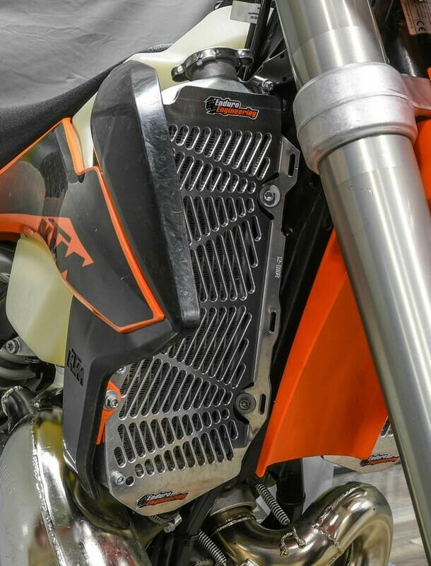 KTM-HQV Billet Radiator , 17-20 EXC/FE/TE, 16-20 SX/FC/TC,, GAS GAS ALL 2021-/ GAS GAS EC/EX/MC 125-450 21-