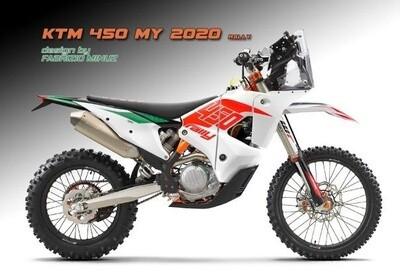 KTM EXC 450 RALLY REPLICA KIT
