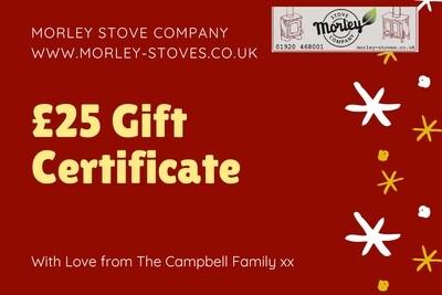 Morley Stove £25 gift voucher