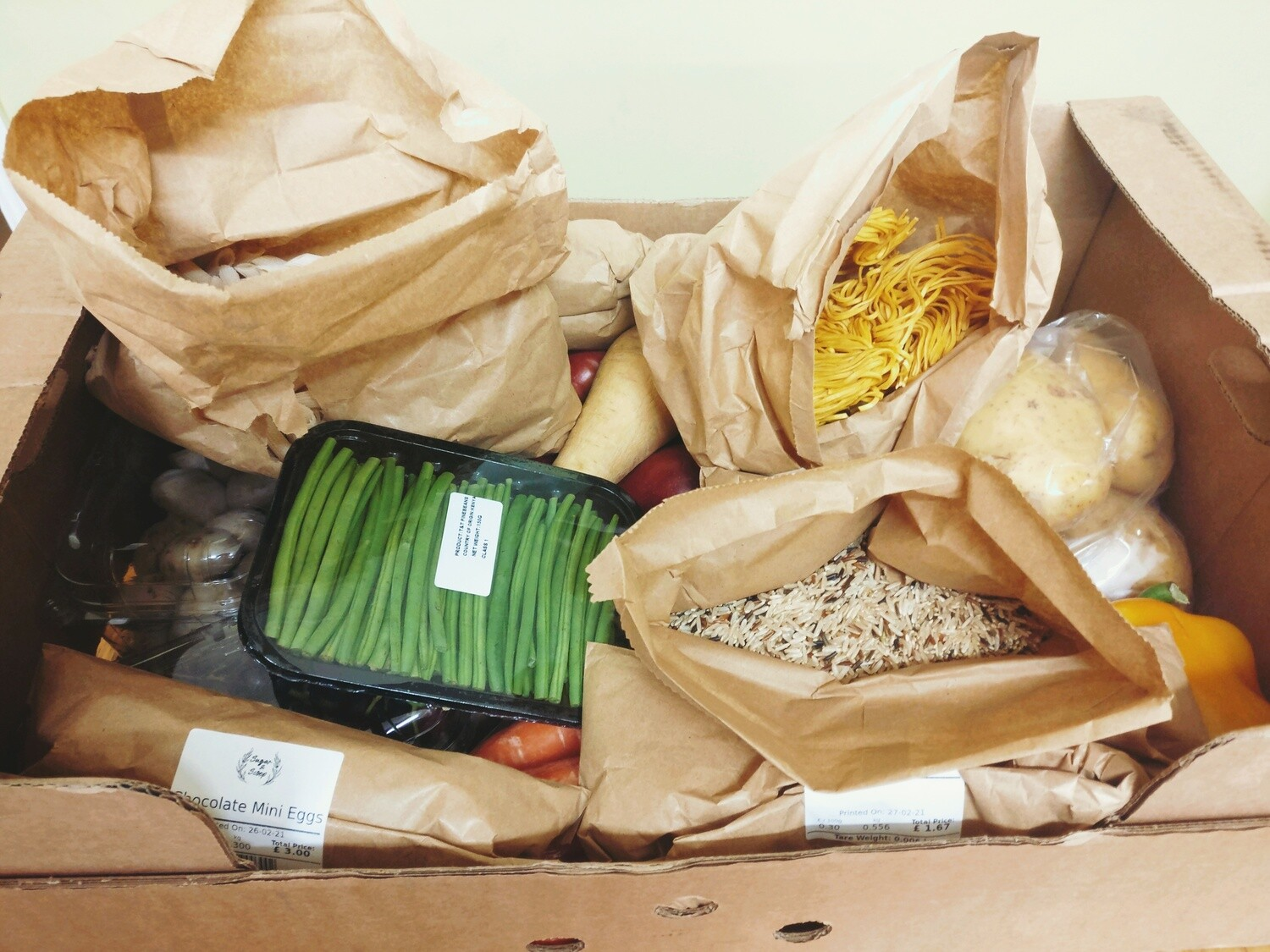 2 Person 'Shop Local' Grocery Box