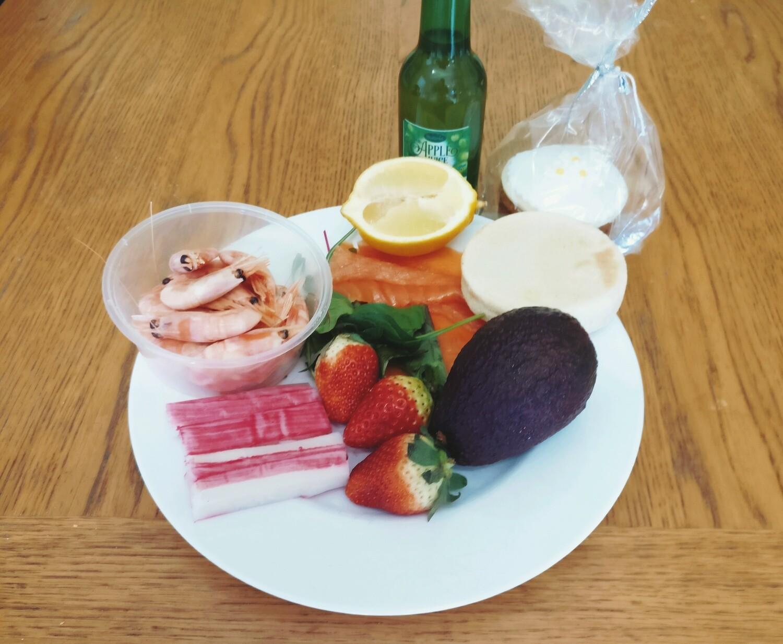 Seafood Graze Box