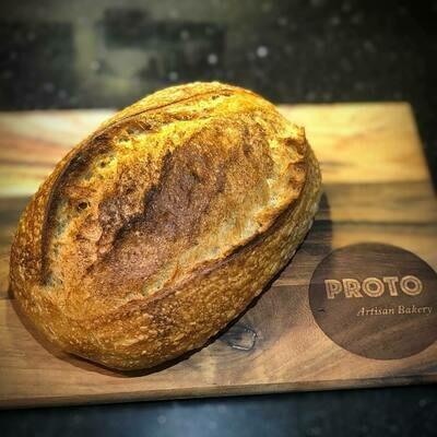 Proto Artisan sourdough loaf