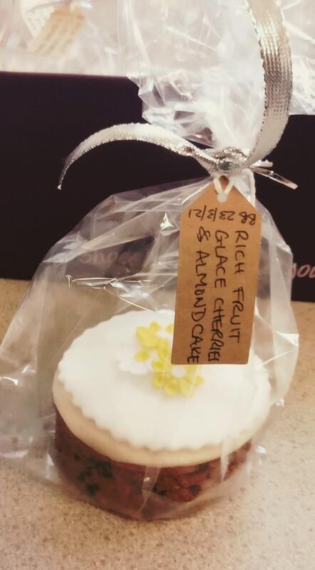 Handmade Mini Fruitcake