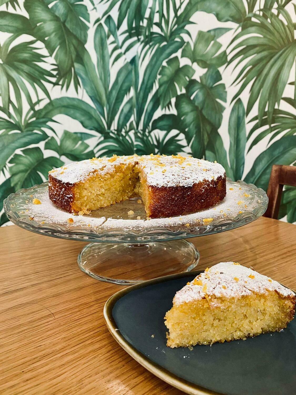 Mudlarks Orange & Polenta Cake Slice - Dairy & Gluten-free