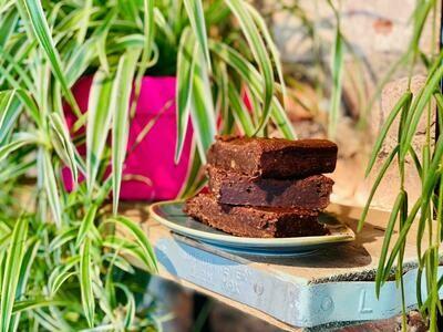 Mudlarks Dairy & Gluten-free Brownies