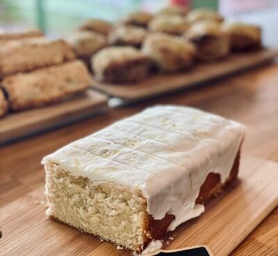 Mudlarks Vegan Lemon Drizzle Cake