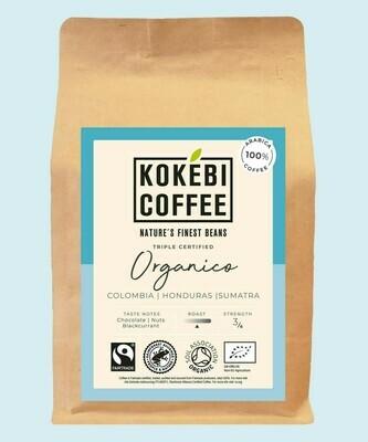Kokebi Organico coffee beans