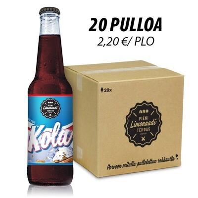 Kola - 20 pullon laatikko