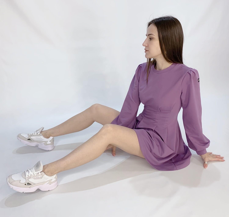 Платье из футера