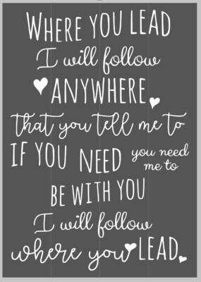 Where you Lead I will Follow; Gilmore Girls