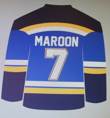 St. Louis Blues Jersey - Name customizable