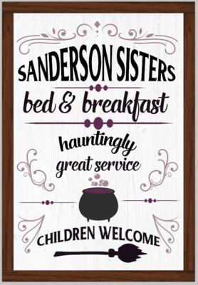 Sanderson Sisters Hocus Pocus Bed & Breakfast