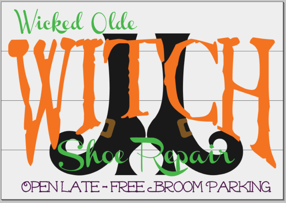 Wicked Ole Witch Shoe Repair