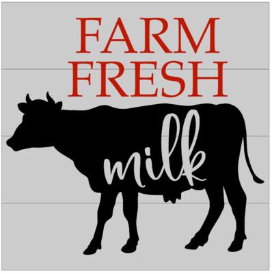 Farm Fresh Milk Cow