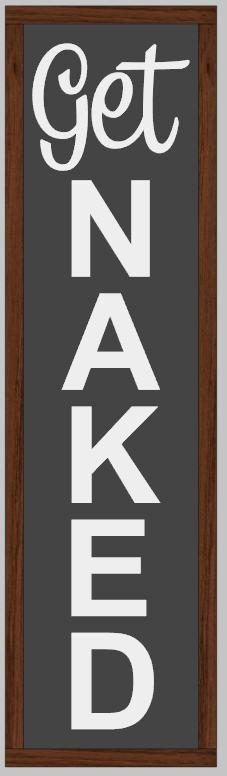 Get Naked (framed)
