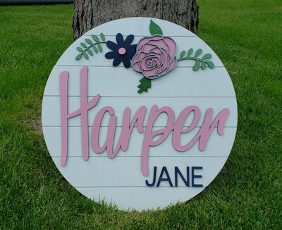 Customized Name Shiplap 20