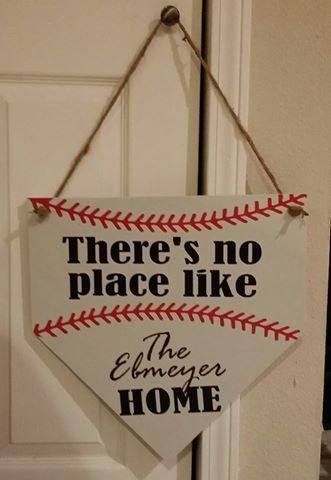 No Place like Home Door Hanger