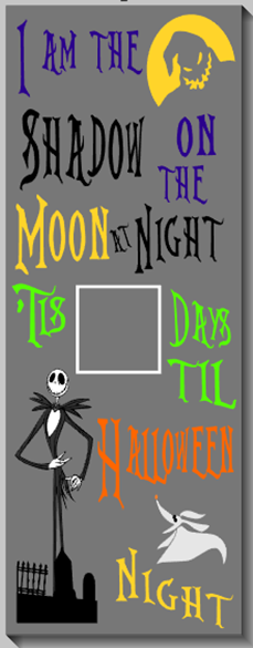 Nightmare Halloween Countdown
