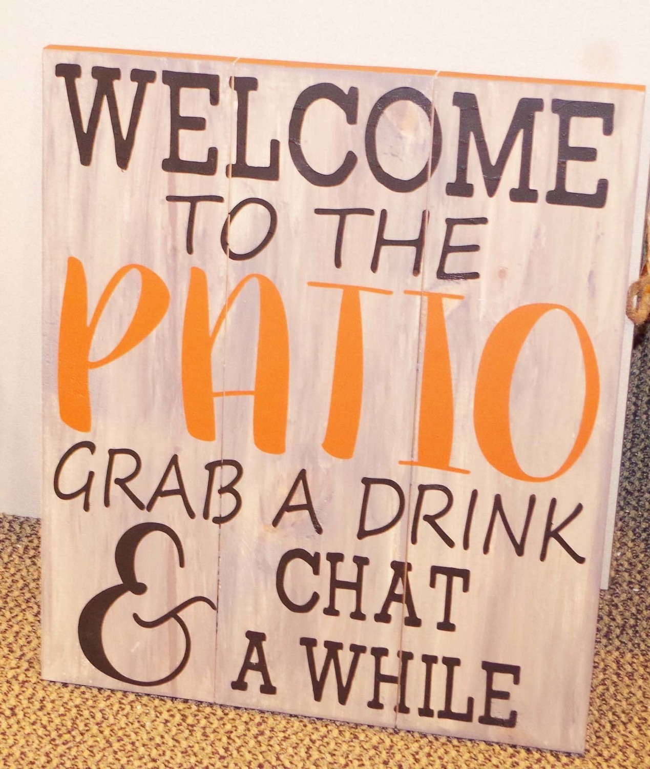 Welcome to the Patio