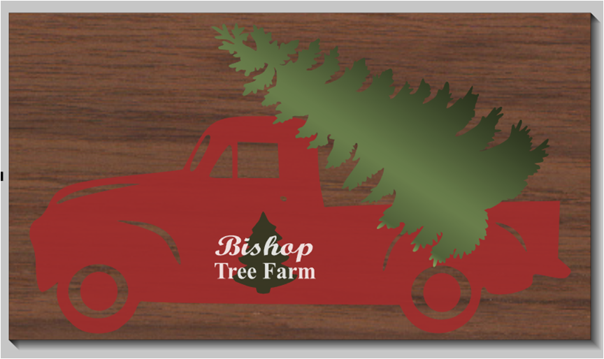 Personalized Christmas Tree Farm