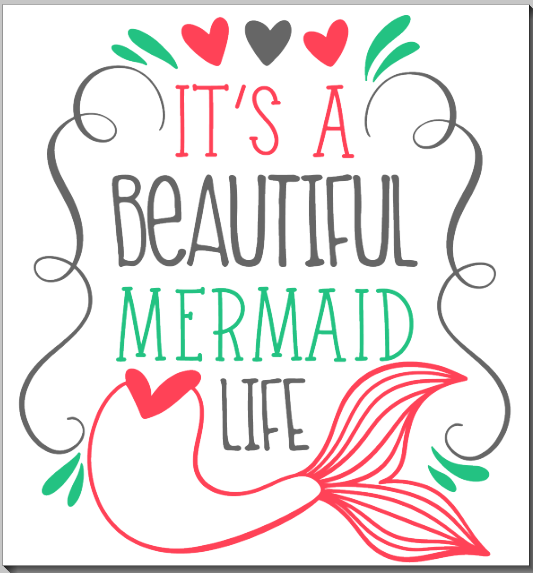 Beautiful Mermaid Life