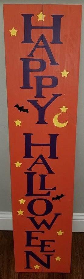 Halloween Porch Signs