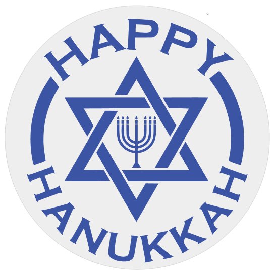 Happy Hanukkah Round