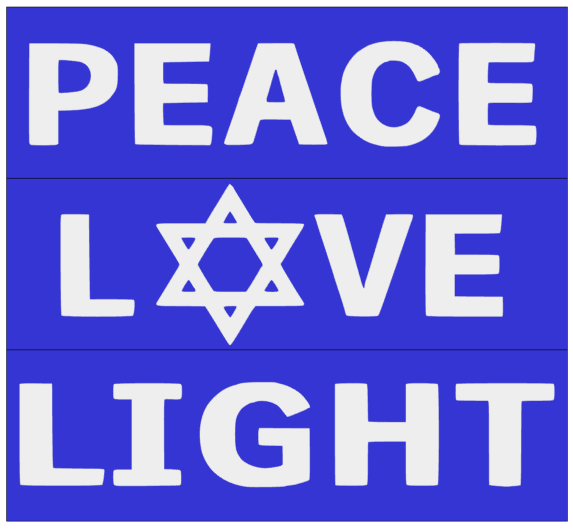 Peace Love Light