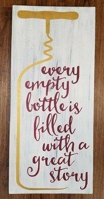 Wine,  Every Empty Bottle