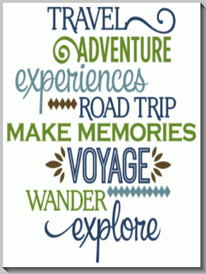 Travel Inspirational Words